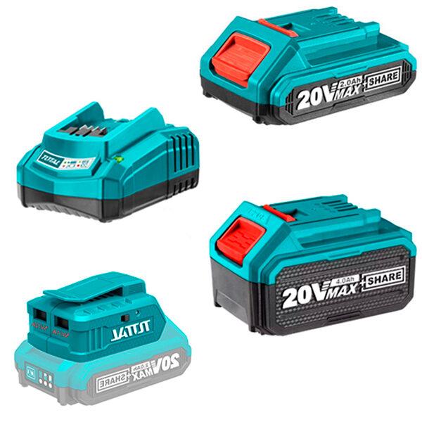 Accesorios para máquinas a batería Anova-Total 20V
