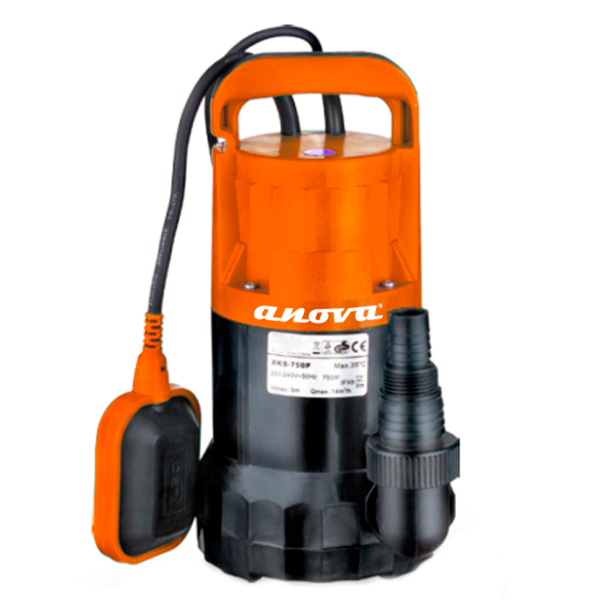 Submersible electric dirty water pump BE750AS 750W 14000L / h Max lift 8M