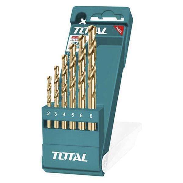 BLISTER 6 BROCAS HSS TALADRO METAL TACSD0065