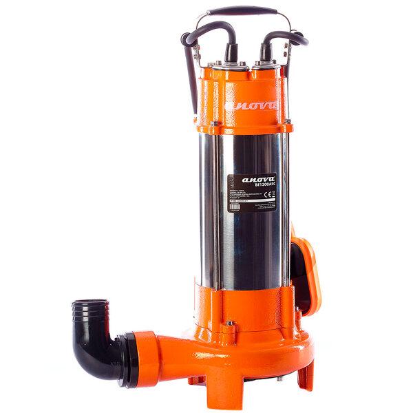 Submersible electric dirty water pump Anova BE1300ASC 1300W 18000L / H Max lift 12M