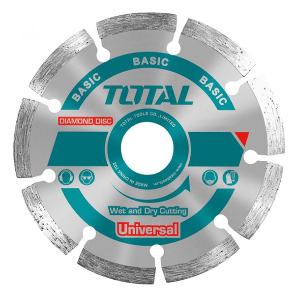 DISCO DIAMANTADO EN SECO 4-1-2 7.5MM TOTAL TOOLS TAC2111153
