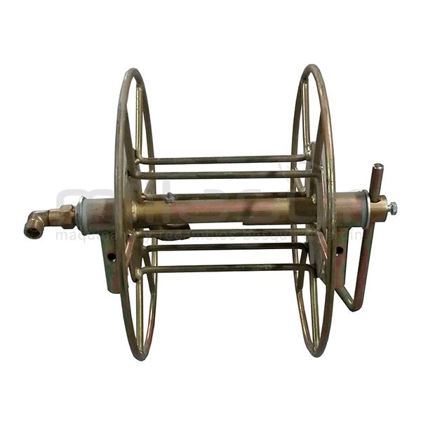 Enrollador giratorio carretilla P50-2 25M con soporte giratorio