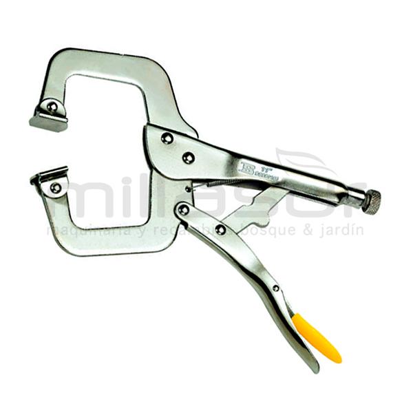 Mordaza de presión para soldar tipo C 250 mm