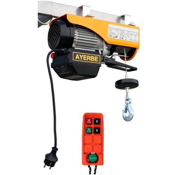 Ayerbe 500/950 Elektrostapler mit Fernbedienung