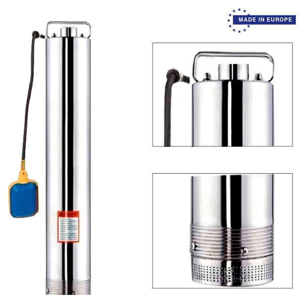 Wasserpumpe BJR SP 60/60 INOX 800W 60L / Min Max Hub 72M