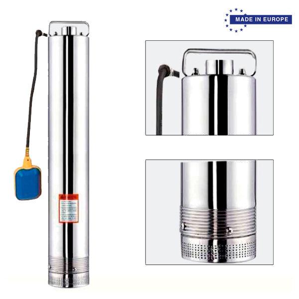 Wasserpumpe BJR SP 70/100 INOX 1100W 100L / Min Max Hub 71M