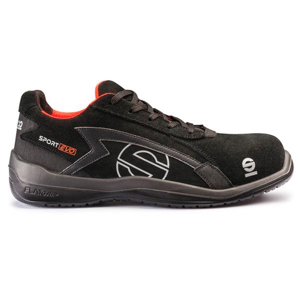 Calzado de Seguridad Sparco Sport Evo 07516 NRNR S3 SRC
