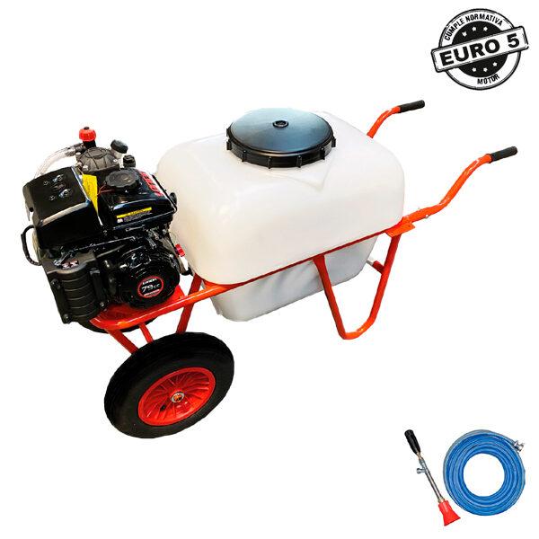 Carretilla sulfatadora 100 litros BJR SP CARRETILLA 2R 4T 2,5 HP