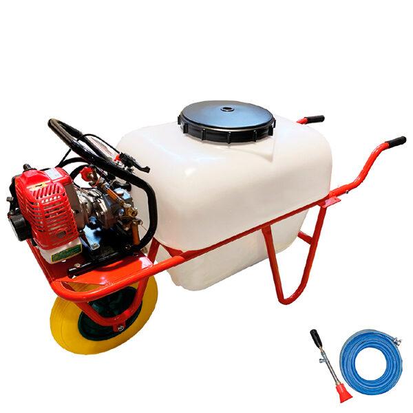 Carretilla sulfatadora 100 litros BJR SP CARRETILLA 2T 26 cc