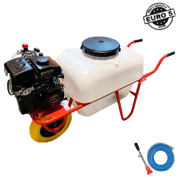 Carretilla sulfatadora 100 litros BJR SP CARRETILLA 4T 2,5 HP