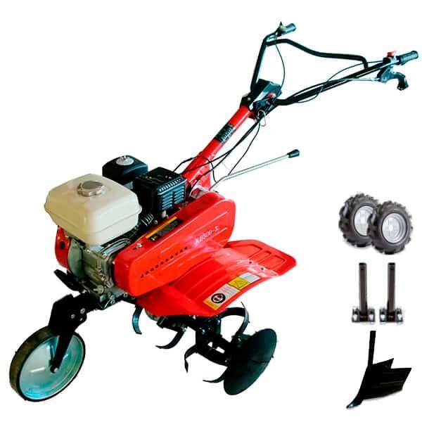 BJR SP 500 S Gartenfräse BJR 6,5 PS Motor + Furche + 400-8 Räder