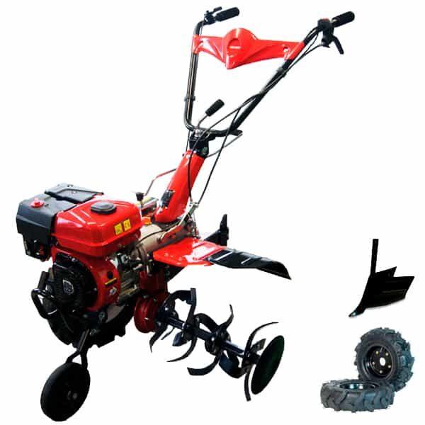 BJR SP700 S1 Loncin 7 PS Gartenfräse + Furche + Räder