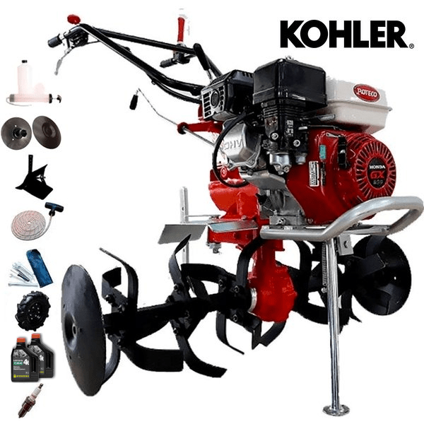 Motoazada Roteco PROFI Motor Kohler 15 KD 350 Diesel + Regalos