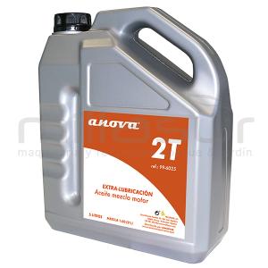 aceite 2t 5 litros anova base sintetica