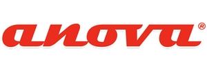logotipo da maquinaria da anova