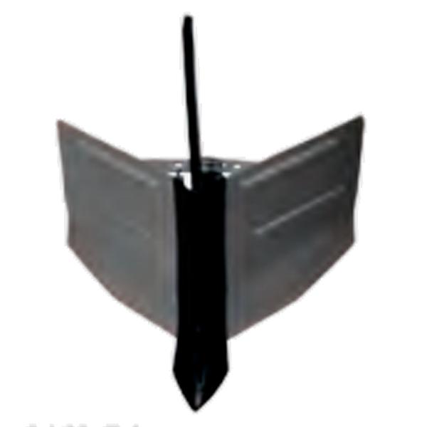 Arado vertedera ajustable para motoazada BZT 1000R3