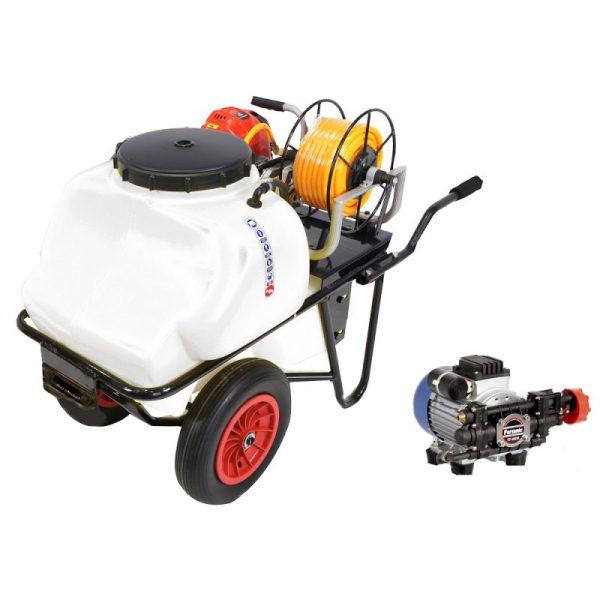 Carretilla sulfatadora 100 litros eléctrica BJR 600 550 W