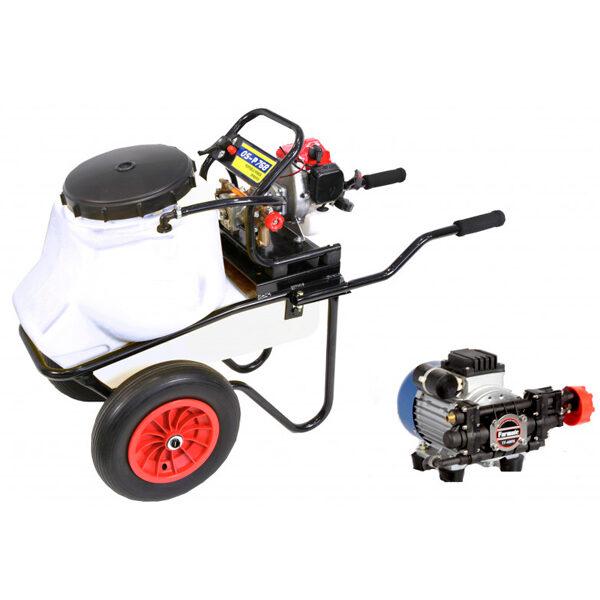 Carretilla sulfatadora 50 litros eléctrica BJR 600 550 W