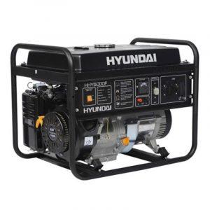 Generador Eléctrico Gasolina Monofásico Hyundai HHY5000F