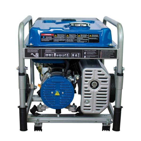 Hyundai HHY3000FK Single Phase Gasoline Electric Generator with wheels