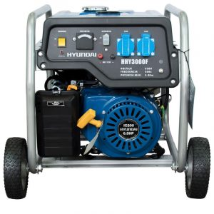 Generador Gasolina Monofásico con ruedas Hyundai HHY3000FK
