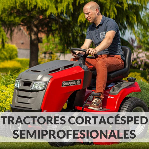 Tractores Cortacésped Semiprofesionales