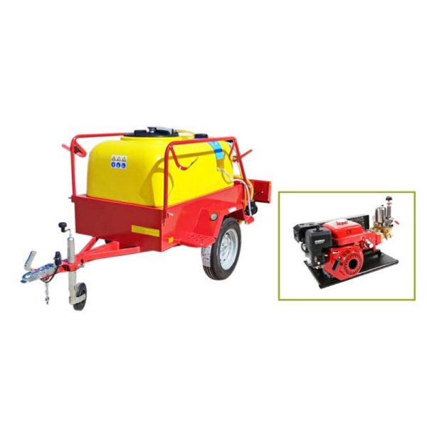Anhängevorrichtung für 600-Liter-Auto BJR 22C-55 / T 160 ccm 5,5 PS mit Trägheitsbremse