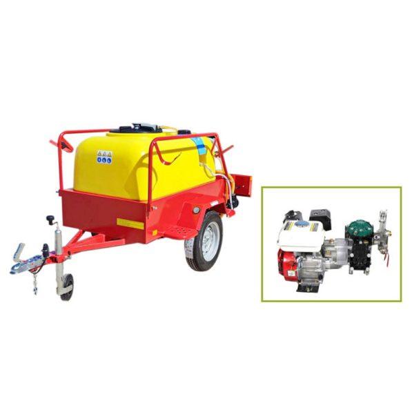 Schleppausrüstung für 600-Liter-Auto BJR 600C1 5,5 PS mit Trägheitsbremse