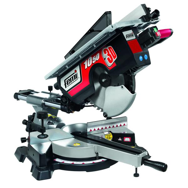 Tronzadora FM-1050/3D para madera /aluminio - Diam. 305 - con mesa- 1800 W.