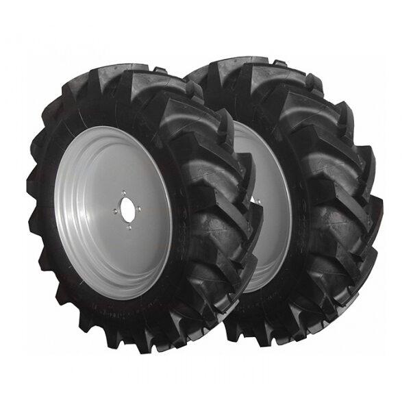Juego de ruedas neumáticas 4.00.8 para Motocultor Meccanica Benassi MTC 620 Y MTC 620D