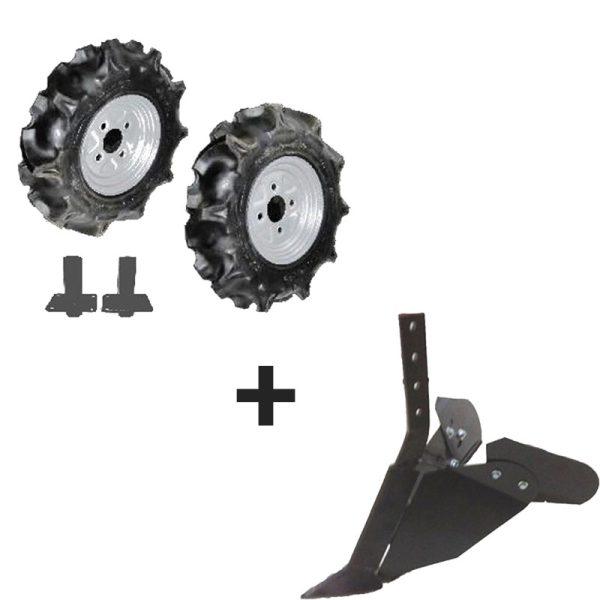 Pneumatischer Radsatz mit Ridger für BJR B750N