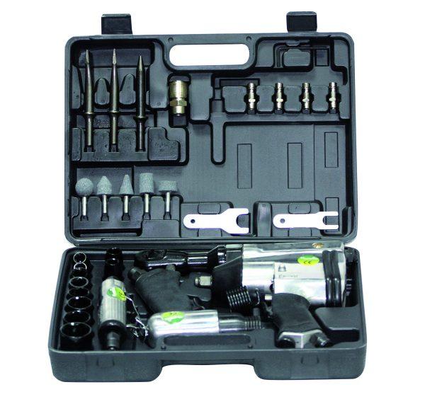Pneumatik-Kit mit 4 Druckluftwerkzeugen Cevik NE-KN580