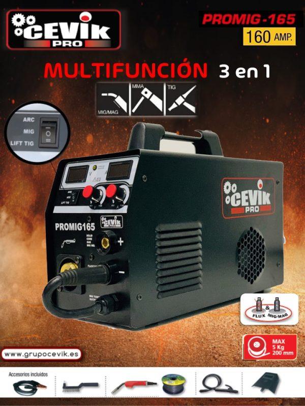 Cevik CE-PROMIG165 Wechselrichter-Drahtschweißgerät