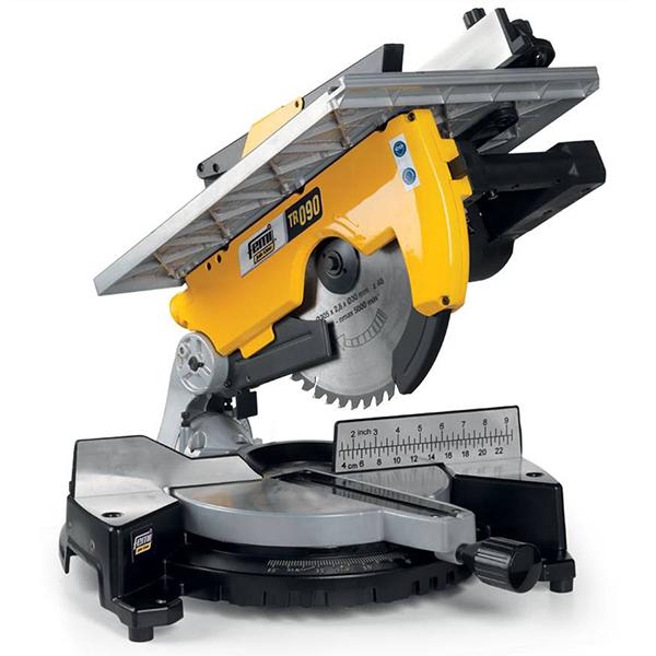 Tronzadora Femi FM-TR090 para madera/aluminio - Diam. 305 - con mesa - 2000 W