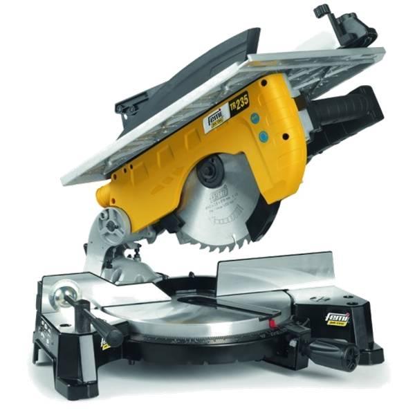 Tronzadora Femi FM-TR235 para madera/aluminio - Diam. 250 - con mesa - 1800 W