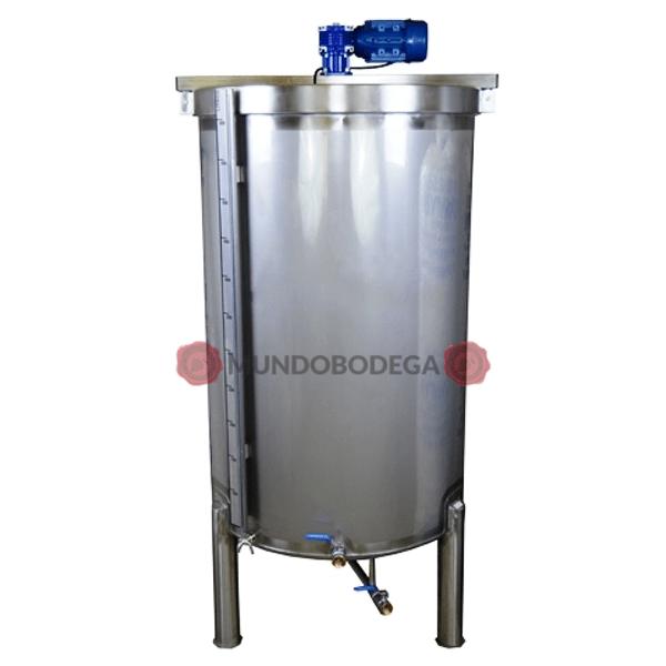 Depósito de vino inox 304 agitador con motor eléctrico