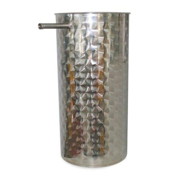 Depósito decantación para aceite INOX 304 floreados serie Oleomaquia MB