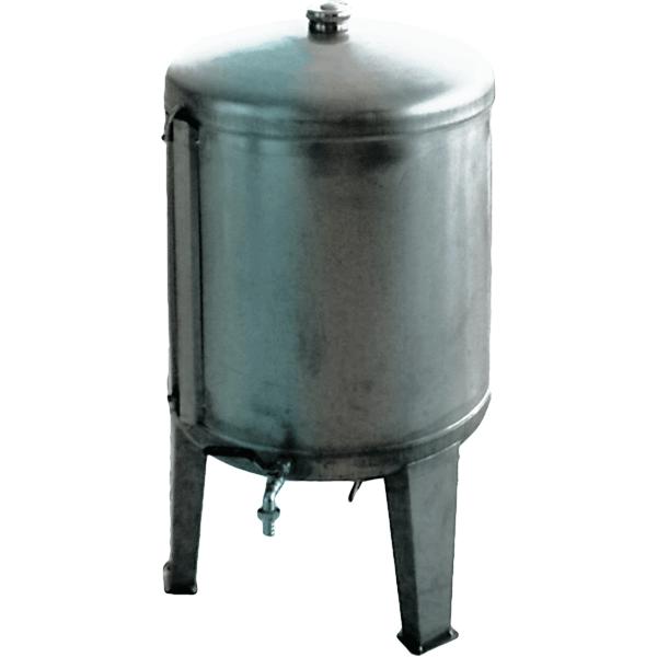 Depósito INOX 304 para vino cerrados con tapón superior