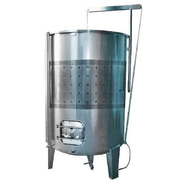 Depósito INOX 304 para vino siempre lleno fondo cónico con cierre completo de aire