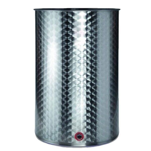 Caves à vin en acier inoxydable AISI 316 RTK à fermeture pneumatique toujours pleines