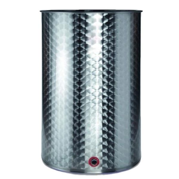 Depósitos para vino acero INOX AISI 316 RTK con cierre neumático siempre lleno