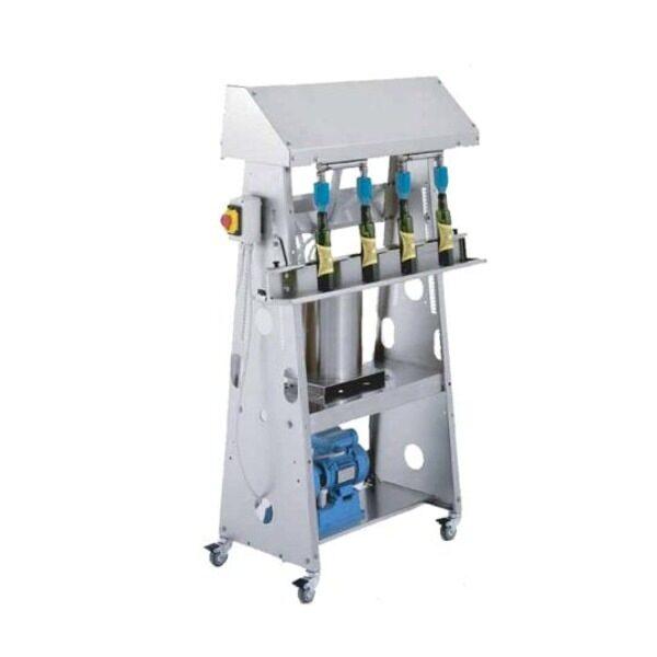 Machine d'embouteillage d'huile monophasée avec pompe 'VACUUM SYSTEM' SPEEDY OLIO 4B