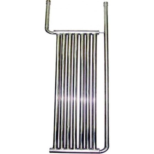 INOX Rohrkühlplatte Modell 750 x 375