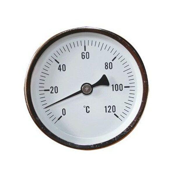 Thermometer für geschlossene Tanks TERW 120D63 Ø 63 mm