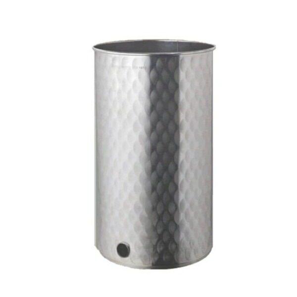 Depósito floreado para miel INOX 304 con tapa de polvo