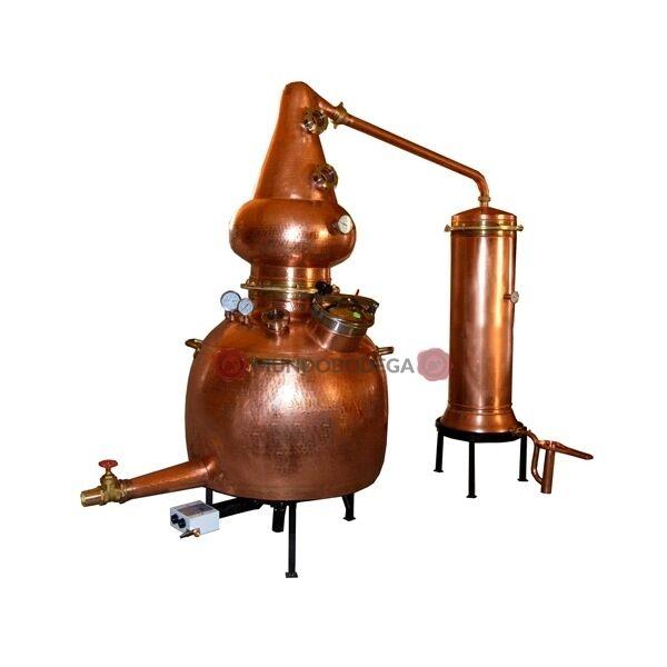 Destilería de pruebas 500 litros completa