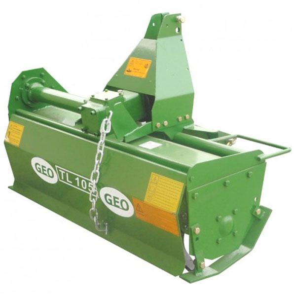 Rotovator mit Querwelle für GEO ITALY TL Traktor