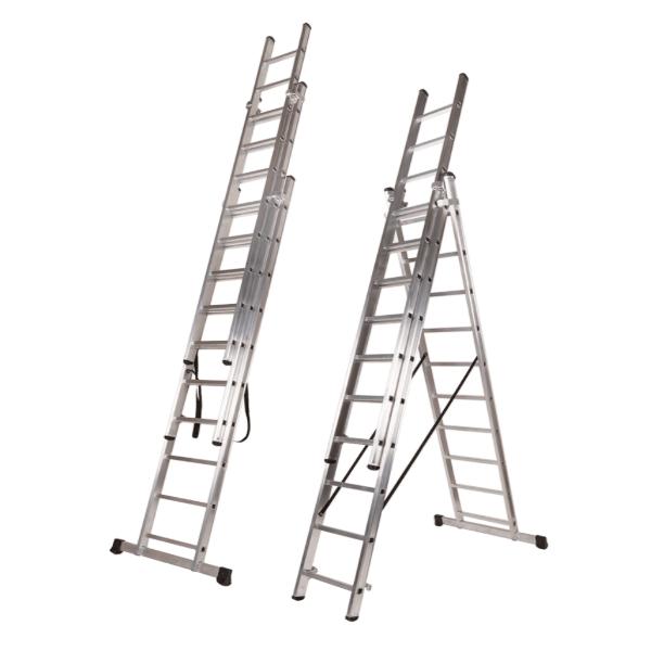 """Escalera Teicocil """"CLASSIK"""" Bricolage EN-131 3 Tramos"""