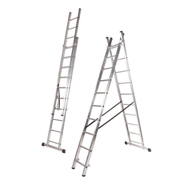 """Escalera Teicocil """"CLASSIK"""" Bricolage EN-131 2 Tramos"""