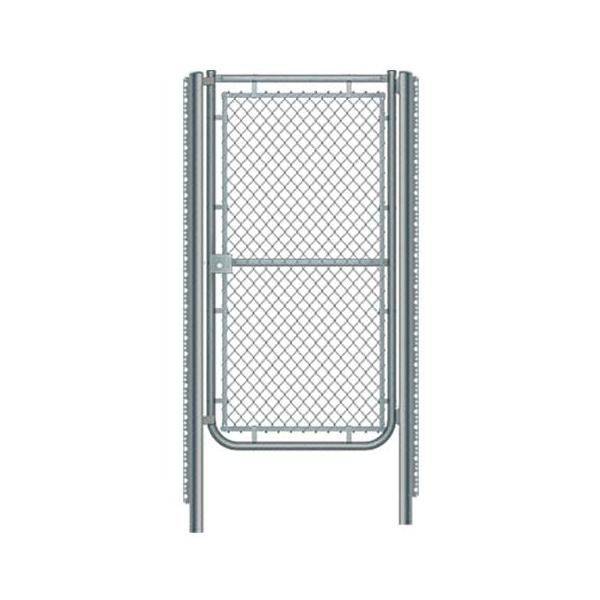 Metal mesh doors